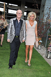 JOHN CAUDWELL and CLAIRE CAUDWELL at Gabrielle's Gala an annual fundraising evening in aid of Gabrielle's Angel Foundation for Cancer Research held at Battersea Power Station, London on 2nd May 2013.