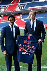 Paris Saint-Germain newly appointed coach German Thomas Tuchel 21 May 2018