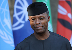 27.05.2017, Taormina, ITA, 43. G7 Gipfel in Taormina, im Bild Yemi Osinbajo ist Vizepräsident von Nigeria // Yemi Osinbajo is vice president of Nigeria during the 43rd G7 summit in Taormina, Italy on 2017/05/27. EXPA Pictures © 2017, PhotoCredit: EXPA/ SM<br /> <br /> *****ATTENTION - OUT of GER*****
