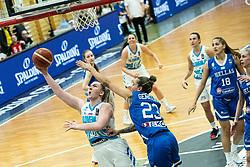 Teja GORŠIČ  of Slovenia during basketball match qualifications for European Championship, round 1, between national teams Slovenia and Greece in Arena Celje - Center, 14. November, Ljubljana, Slovenia. Photo by Grega Valancic / Sportida