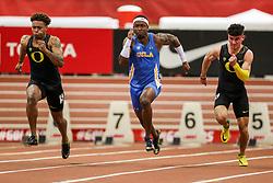 Don Kirby Invitational Indoor Track & Field<br /> Albuquerque, NM, Feb 14, 2020<br /> mens 60m heats, UCLA