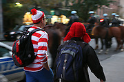 31 October 2010- New York, New York- Atmosphere at The 38th Annual Halloween Parade held along 6th Avenue on October 31, 2010 in New York City. Photo Credit: Terrence Jennings