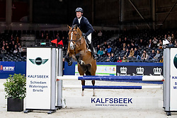 Been Remco, NED, Eurocool's Just Apple<br /> KWPN Hengstenkeuring - 's Hertogenbosch 2019<br /> © Hippo Foto - Dirk Caremans<br /> 31/01/2019