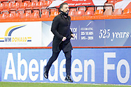Aberdeen Manager Derek McInnes during the Scottish Premiership match between Aberdeen and Motherwell at Pittodrie Stadium, Aberdeen, Scotland on 23 January 2021.