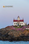 Battery Point Lighthouse in Crescent City, California, USA
