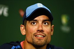 File photo dated 13-12-2017 of England's Alastair Cook who will receive a knighthood after he was named in the New Year Honours list.