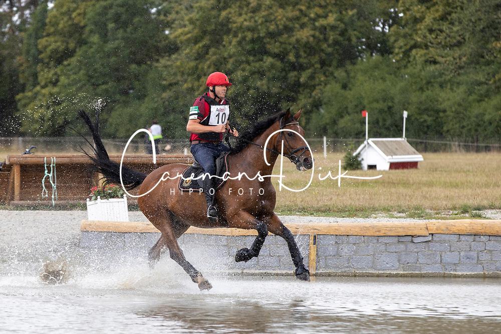Hermans Bart, BEL, Gorki van de Pertjeshoeve<br /> CCI4*-S Arville 20202<br /> © Hippo Foto - Dirk Caremans<br />  22/08/2020