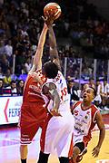 Monaldi Diego Reynolds Jalen<br /> Grissin Bon Pallacanestro Reggio Emilia - VL Pesaro<br /> Lega Basket Serie A 2017/2018<br /> Reggio Emilia, 08/10/2017<br /> Foto A.Giberti / Ciamillo - Castoria