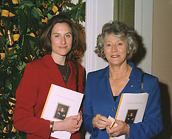 MISS CATHERINE HOLMES A COURT and her mother, MRS JANET HOLMES A COURT, multi millionairess chairman of Stoll Moss Theatres Ltd. at a reception in London on April 16th 1997.LXR 14