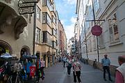 Innsbruck, Austria, Hofgasse Street