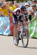 London 7th July 2007: CSC's Jens Voigt (#038) finished 54th overall at +48 seconds in the opening prologue of the 2007 Tour de France cycling race.