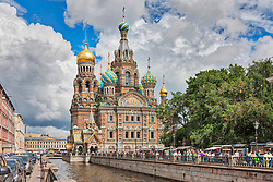 Church of the Savior on Spilled Blood, Griboedov Canal, Saint Petersburg, St. Petersburg, Russia