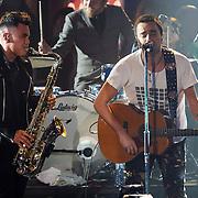 NLD/Amsterdam/20130418- Uitreiking 3FM Awards 2013, optreden Kane, Dinand Woesthoff