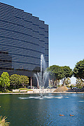 Vertical Photos of Lake Front Commercial Office Building on Hutton Center Drive in Santa Ana California