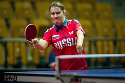 Chebanika Raisa of Russia plays final match during Day 4 of SPINT 2018 - World Para Table Tennis Championships, on October 20, 2018, in Arena Zlatorog, Celje, Slovenia. Photo by Vid Ponikvar / Sportida