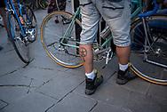 La seconda edizione dell'Eroica a Montalcino ha visto partecipare piu' di 1400 ciclisti italiani e stranieri, vestiti con abiti d'epoca e in sella a biciclette vintage. Hanno prcorso le strade delle colline toscane percorrendo fino a 170km su strade bianche e asfaltate.  Federico Scoppa