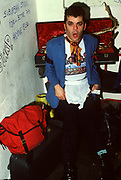 Ian Dury backstage London 1979