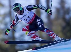 09.02.2011, Kandahar, Garmisch Partenkirchen, GER, FIS Alpin Ski WM 2011, GAP, Herren Super G, im Bild Travis Ganong (USA) // Travis Ganong (USA)  during Men Super G, Fis Alpine Ski World Championships in Garmisch Partenkirchen, Germany on 9/2/2011. EXPA Pictures © 2011, PhotoCredit: EXPA/ J. Groder