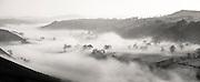 Mist in the Upper Dove valley, Peak District