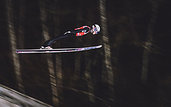 11.01.2019, Stadio del Salto, Predazzo, ITA, FIS Weltcup Skisprung, Val di Fiemme, Herren, Training, im Bild Johann Andre Forfang (NOR) // Johann Andre Forfang of Norway during the training jump of men's FIS Skijumping World Cup at the Stadio del Salto in Predazzo, Itali on 2019/01/11. EXPA Pictures © 2019, PhotoCredit: EXPA/ JFK