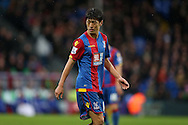 Chung-young Lee of Crystal Palace looks on. Barclays Premier League match, Crystal Palace v Chelsea at Selhurst Park in London on Sunday 3rd Jan 2016. pic by John Patrick Fletcher, Andrew Orchard sports photography.