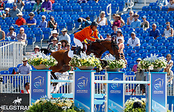 Houtzager Marc, NED, Sterrehofs Calimero<br /> World Equestrian Games - Tryon 2018<br /> © Hippo Foto - Dirk Caremans<br /> 20/09/18