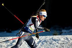Federica Sanfilippo (ITA)  during Women 12.5 km Mass Start at day 4 of IBU Biathlon World Cup 2015/16 Pokljuka, on December 20, 2015 in Rudno polje, Pokljuka, Slovenia. Photo by Vid Ponikvar / Sportida