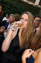 BRYONY DANIELS at the Tatler Summer Party 2006 in association with Fendi held at Home House, Portman Square, London W1 on 29th June 2006.<br /><br />NON EXCLUSIVE - WORLD RIGHTS