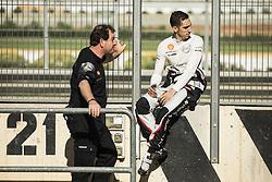 October 17, 2018 - Valencia, Spain - BUEMI Sebastien (che), Nissan e.dams Team portrait during the Formula E official pre-season test at Circuit Ricardo Tormo in Valencia on October 16, 17, 18 and 19, 2018. (Credit Image: © Xavier Bonilla/NurPhoto via ZUMA Press)