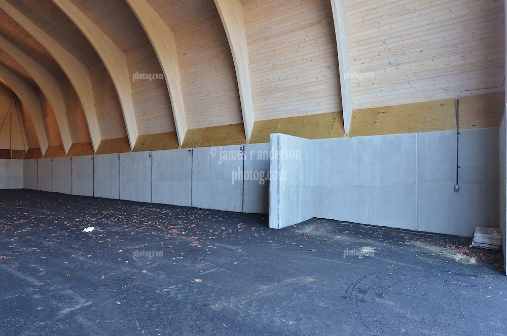Construction Progress Photograph, Sea Street Salt Storage Facility, New Haven. Progress Documentation Submission 7.