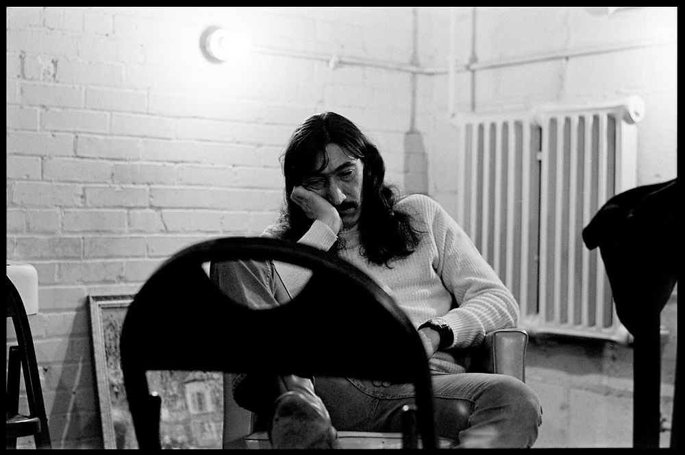Fall River, Massachusetts - 18 February 1968. Jimmy Carl Black  of The Mothers of Invention backstage prior to a performance. © 2020 Ed Lefkowicz<br />