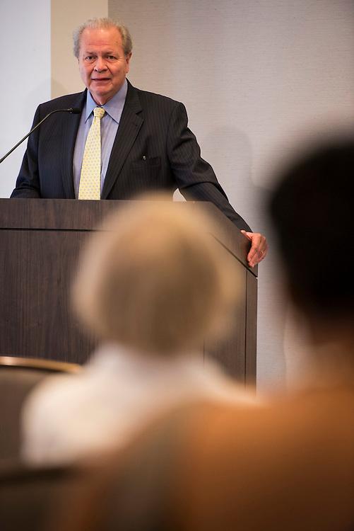 "Neil Horstman, President of the White House Historical Association, speaks during the 2013 Summer Teaching Institute from the White House Historical Association. It's theme was, ""Why Teach the White House?"" (Photo by Matthew Paul D'Agostino / WHHA) 2013 White House Historical Association"
