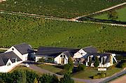 Vineyard. Winery building. Domaine Pascal Jolivet, Sancerre, Loire, France