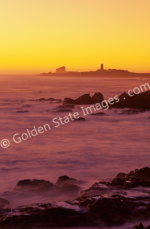 Located in San Simeon, along the Central Coast of California, Point Piedras Blancas Lighthouse is just north of the town of Cambria and iconic Hearst Castle<br /> <br /> Built in 1875, the current lighthouse continues to serve as an navigation aid. A beacon flashes every 10 seconds. <br /> <br /> Today, the lighthouse is managed under the Piedras Blancas State Marine Reserve and Marine Conservation Area which provides protected marine areas offshore to conserve ocean wildlife and marine ecosystems, including a large population of elephant seals who make the nearby beaches their home.