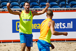 20150828 NED: NK Beachvolleybal 2015, Scheveningen<br />Kwalificaties NK Beachvolleybal 2015, Erwin Huinen