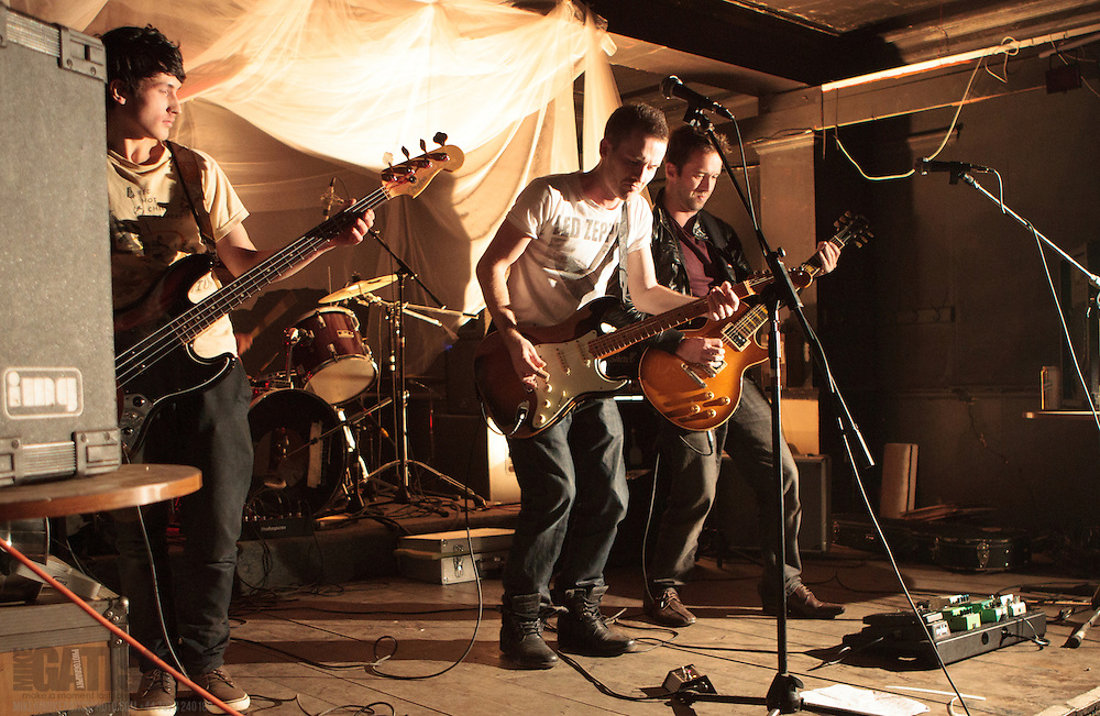 Federal Charm performing live on the first Animals on Toast night at Antwerp Mansion, Manchester, United Kingdom, 2012-09-15