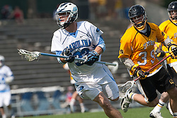 09 May 2009: North Carolina Tar Heels defenseman Sean Jackson (33) during a 15-13 win over the University of Maryland - Baltimore County Retrievers on Fetzer Field in Chapel Hill, NC.