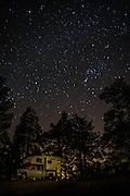 Thomas Mountain Camping at Night
