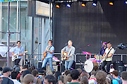 The band Ivan and Alyosha at Bumbershoot 2013 in Seattle, WA USA