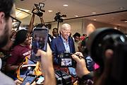 Joe Biden greets students at Texas Southern University's Student Life Center in Houston, TX Friday September 13, 2019.