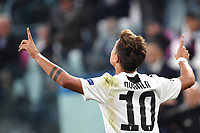 Paulo Dybala of Juventus celebrates scoring 1-0 Esultanza gol <br /> Torino 02-10-2018 Juventus Stadium Football Calcio Uefa Champions League 2018/2019 Group H Juventus - Young Boys <br /> Foto Andrea Staccioli / Insidefoto