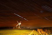 A startrail above Burnham Overy's famous windmill. A slightly different take on this well known and very well photographed landmark on the North Norfolk coast.