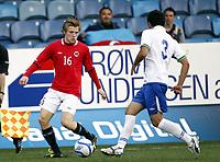 Fotball 1. juni 2012 Euro Qual., U21  Norge - Azerbaijan 1-0 <br /> Norway - Azerbaijan<br /> <br /> Yan-Erik de Lanlay , Norge<br /> Tarlan Guliyev, Azerbaijan