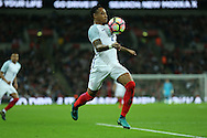 Nathaniel Clyne of England in action. England v Spain, Football international friendly at Wembley Stadium in London on Tuesday 15th November 2016.<br /> pic by John Patrick Fletcher, Andrew Orchard sports photography.