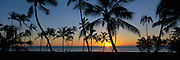Sunset, Ko'olina Resort, Oahu, Hawaii, USA<br />