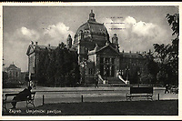 Zagreb Umjetnički paviljon.  <br /> <br /> ImpresumZagreb : Naklada Commerce, [prije 1936].<br /> Materijalni opis1 razglednica : tisak ; 13,7 x 9 cm.<br /> NakladnikNaklada Commerce<br /> Vrstavizualna građa • razglednice<br /> ZbirkaGrafička zbirka NSK • Zbirka razglednica<br /> Formatimage/jpeg<br /> PredmetZagreb –– Trg kralja Tomislava<br /> SignaturaRZG-TOM-78<br /> Obuhvat(vremenski)20. stoljeće<br /> NapomenaRazglednica putovala 1936.<br /> PravaJavno dobro<br /> Identifikatori001001060<br /> NBN.HRNBN: urn:nbn:hr:238:887717 <br /> <br /> Izvor: Digitalne zbirke Nacionalne i sveučilišne knjižnice u Zagrebu