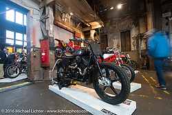 2014 Harley-Davidson Street 750 from Suicide Machine at the One Show motorcycle show in Portland, OR. February 14, 2016. ©2016 Michael Lichter