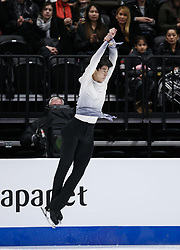 February 7, 2019 - Los Angeles, California, U.S - Sihyeong Lee of South Korea competes in the Men Short Program during the ISU Four Continents Figure Skating Championship at the Honda Center in Anaheim, California on February 7, 2019. (Credit Image: © Ringo Chiu/ZUMA Wire)