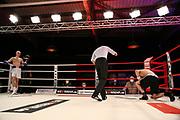 BOXEN: Universum Boxpromotion, Hamburg, 20.22.2021<br /> Sasha Alexander Chupil (GER) - Martin Friese (GER)<br /> © Torsten Helmke