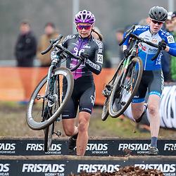 12-01-2020: Wielrennen: NK Veldrijden: Rucphen<br />Esther van der Burg